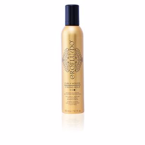 Hair styling product OROFLUIDO curly mousse strong hold Orofluido