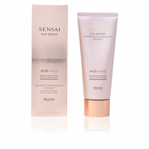 Body SENSAI SILKY BRONZE sun protective emulsion body SPF20 Kanebo Sensai
