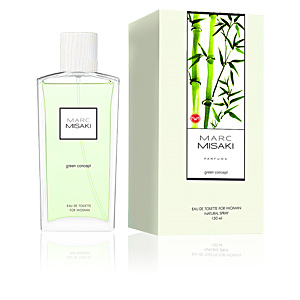 Instituto Español MARC MISAKI FOR WOMAN green concept perfume