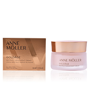 Skin tightening & firming cream  GOLDÂGE restructuring night cream Anne Möller