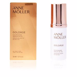 Anti aging cream & anti wrinkle treatment GOLDÂGE NOURISHING serum-in-oil Anne Möller