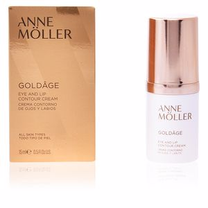 Contorno de labios GOLDÂGE eye and lip contour cream Anne Möller