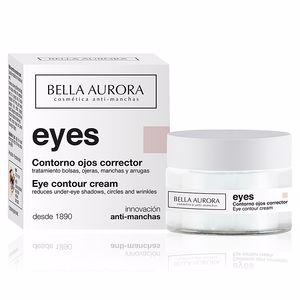 Dark circles, eye bags & under eyes cream EYES contorno ojos multi-corrector Bella Aurora
