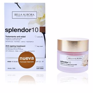 Anti aging cream & anti wrinkle treatment SPLENDOR 10 tratamiento anti-edad SPF20 Bella Aurora