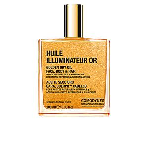 HUILE ILLUMINATEUR OR golden dry oil face body & hair 100 ml