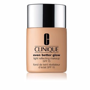 EVEN BETTER GLOW light reflecting makeup SPF15 #honey