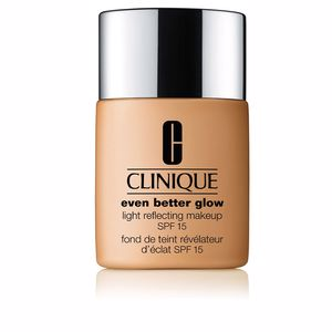 EVEN BETTER GLOW light reflecting makeup SPF15 #brulée