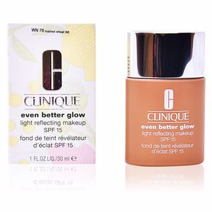 Clinique, EVEN BETTER GLOW light reflecting makeup SPF15 #toasted