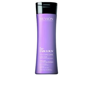 Shampoo per capelli ricci - Shampoo idratante BE FABULOUS C.R.E.A.M. curl defining shampoo Revlon