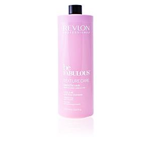 Champú antirrotura BE FABULOUS C.R.E.A.M anti-frizz shampoo Revlon