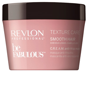 Hair mask for damaged hair BE FABULOUS C.R.E.A.M anti-frizz mask Revlon