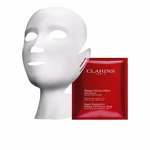 Mascarilla Facial SUPER RESTORATIVE instant lift serum mask Clarins