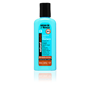 Natural World, MOROCCAN ARGAN OIL moisture rich shampoo 100 ml