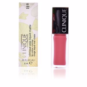 Pintalabios y labiales POP LIQUID MATTE lip colour + primer Clinique