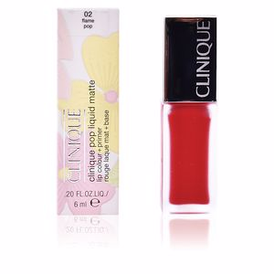 Lipsticks POP LIQUID MATTE lip colour + primer Clinique