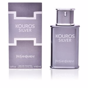 KOUROS SILVER eau de toilette spray 50 ml