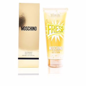 Body moisturiser FRESH COUTURE GOLD the freshest body lotion Moschino