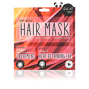 Hair mask for damaged hair HAIR MASK 2 STEPS Oh K!