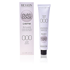 Tinte NUTRI COLOR creme 3in1 cocktail #000-clear Revlon