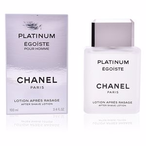 Aftershave ÉGOÏSTE PLATINUM lotion après rasage Chanel