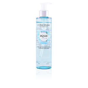 Facial cleanser AQUA RÉOTIER water gel cleanser L'Occitane