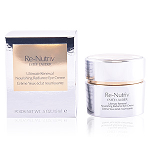 Dark circles, eye bags & under eyes cream RE-NUTRIV ultimate renewal nourishing radiance eye cream Estée Lauder