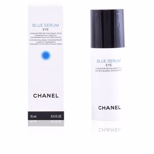 Dark circles, eye bags & under eyes cream BLUE SERUM eye revitalizing concentrate Chanel