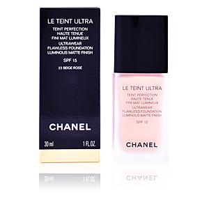 Base de maquillaje LE TEINT ULTRA teint perfection haute tenue Chanel