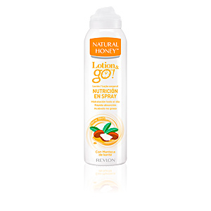 Body moisturiser LOTION & GO! leche corporal nutrición en spray Natural Honey