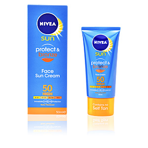 Facial SUN PROTECT & BRONZE face cream SPF50 Nivea