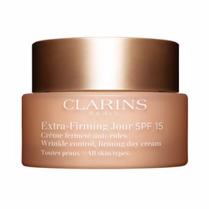 Tratamento para flacidez do rosto EXTRA FIRMING JOUR crème fermeté anti-rides SPF15 Clarins