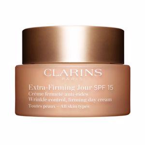 Tratamiento Facial Reafirmante EXTRA FIRMING JOUR crème fermeté anti-rides SPF15 Clarins