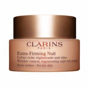Soin du visage raffermissant EXTRA FIRMING NUIT crème riche régénérante anti-rides Clarins