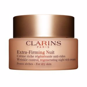 Skin tightening & firming cream  EXTRA FIRMING NUIT crème riche régénérante anti-rides Clarins