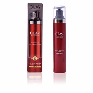 Skin tightening & firming cream  REGENERIST 3 AREAS crema reafirmante intensiva SPF30 Olay