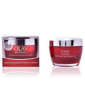 Anti aging cream & anti wrinkle treatment - Skin tightening & firming cream  - Face moisturizer REGENERIST 3 AREAS crema anti-edad intensiva Olay