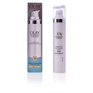 Anti aging cream & anti wrinkle treatment REGENERIST LUMINOUS crema iluminadora SPF20 Olay