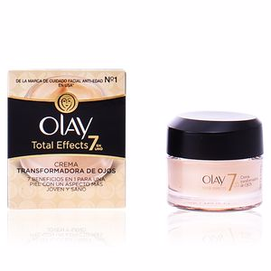 Anti ojeras y bolsas de ojos TOTAL EFFECTS crema transformadora de ojos Olay