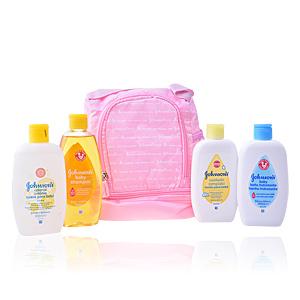 Hidratação corporal BABY MOCHILA ROSA LOTE Johnson's