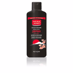 Gel de baño JAPAN SECRETS gel de ducha Natural Honey