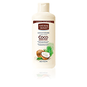 Bagno schiuma COCO ADDICTION gel de ducha Natural Honey