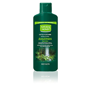 Bagno schiuma AMAZONIAN SECRETS gel de ducha Natural Honey