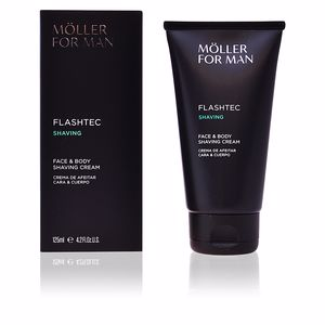 Mousse à raser FLASHTEC SHAVING face & body shaving cream Anne Möller