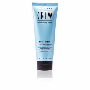 American Crew, FIBER CREAM fibrous cream medium hold natural shine 100 ml