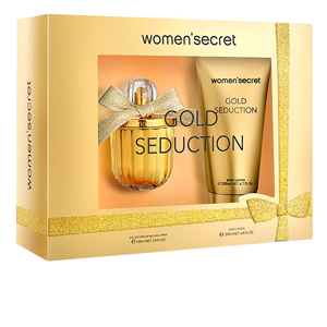 Women'Secret GOLD SEDUCTION SET perfume