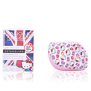Hair brush COMPACT STYLER hello kitty candy stripes Tangle Teezer