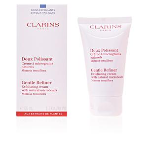 Face scrub - exfoliator DOUX POLISSANT crème à micrograins naturels Clarins