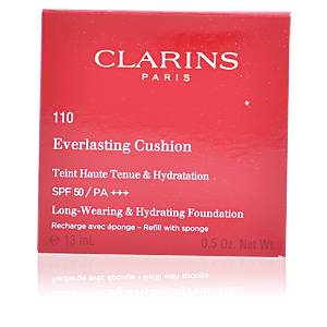 Foundation makeup EVERLASTING cushion SPF50 refill Clarins