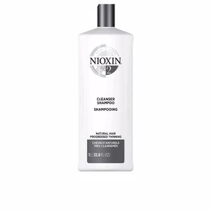 Volumizing shampoo SYSTEM 2 CLEANSER SHAMPOO step 1 natural hair Nioxin