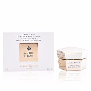 Soin du visage anti-fatigue ABEILLE ROYALE cure de la reine Guerlain